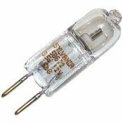 SYLVANIA SYLVANIA STARLITE HALOGEN QUARTZ LAMP, T4, 35 WATT, 12 VOLTS, GY6.35 BIPIN, CLEAR, TUNGSTEN, UV FILTER