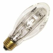 SYLVANIA SYLVANIA METALARC METAL HALIDE LAMP, E17, 100 WATT, E26 MEDIUM, CLEAR, UNIVERSAL BURN