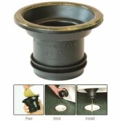 FERNCO 4 IN. WAX FREE TOILET SEAL FOR DRAIN PIPE