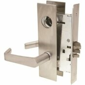 ARROW LOCK AB SERIES DULL CHROME ENTRY MORTISE LOCK LEVER TRIM